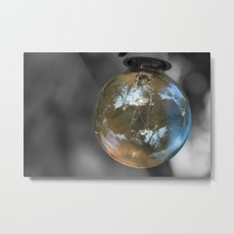 Light up the world Metal Print
