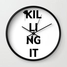 Killing It II Wall Clock