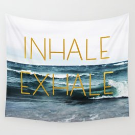 Inhale Exhale Wall Tapestry