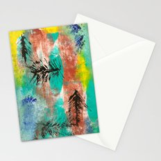 March Abstract One  Stationery Cards