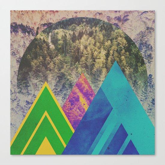 Fractions B16 Canvas Print