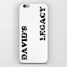 David's Legacy Scattered Leaves iPhone Skin