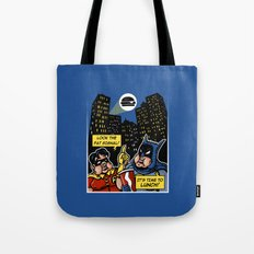 Fatman and Big Belly Tote Bag