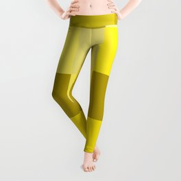 Yellow shades squares Leggings