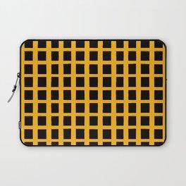 Black Honey Grid Laptop Sleeve
