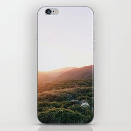 Golden Hour in the Marin Hills iPhone Skin