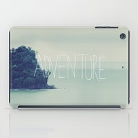 island iPad Cases featuring Adventure Island by Leah Flores