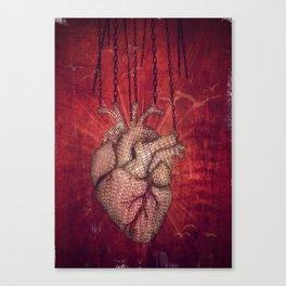 unchain my heart Canvas Print