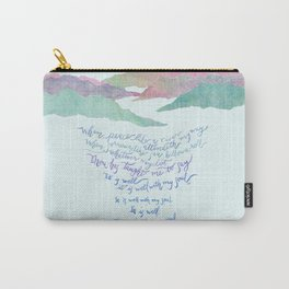 It Is Well With My Soul-Hymn Carry-All Pouch