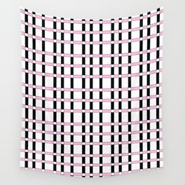 symetric tartan and gingham 28 -vichy, gingham,strip,square,geometric, sober,tartan Wall Tapestry