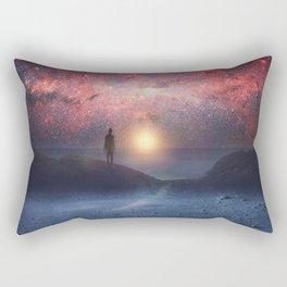 A new beginning II Rectangular Pillow