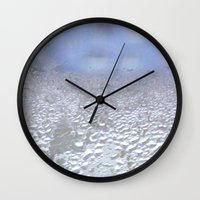 window Wall Clocks featuring window by Eva Lesko