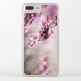 ROSE SPANGLES no1-Butterfly Clear iPhone Case