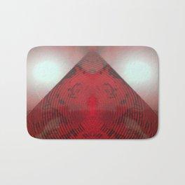 FX#412 - Red Pyramid Bright Bath Mat