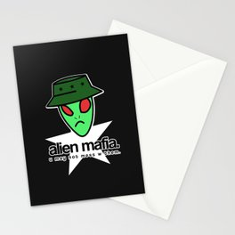 ALIEN MAFIA. Stationery Cards