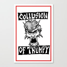COLLUSION OF TRUMPY Canvas Print