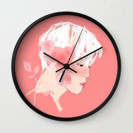 Rose :: Grace Wall Clock
