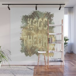 Kaos theory on sandy fractal Wall Mural