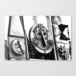 Tick Tock It's Smile O'clock Canvas Print