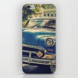 Vintage car iPhone Skin