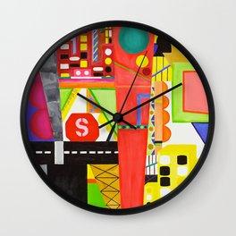 City I Wall Clock