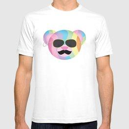 Punk Rainbow Bondage Bear T-shirt