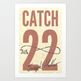 Catch 22 Art Print
