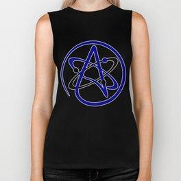 Atomic Atheism Biker Tank