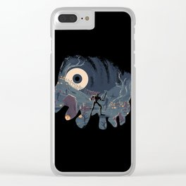 Sir Daniel Fortesque Clear iPhone Case