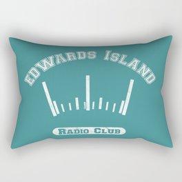 Edwards Island Radio Club Rectangular Pillow