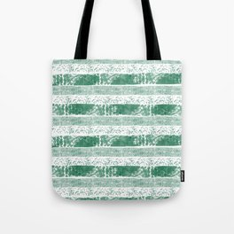 Pastel green watercolor paint brushstrokes confetti stripes Tote Bag