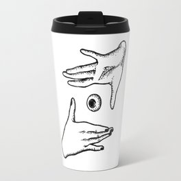 In your hand Travel Mug