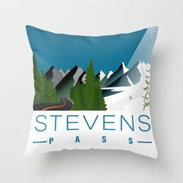 Stevens Pass Throw Pillow