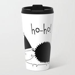 Fun Scandinavian Christmas art for techies Travel Mug