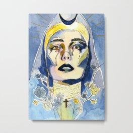 The High Priestess Metal Print
