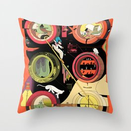 I Think It's a Boat Throw Pillow