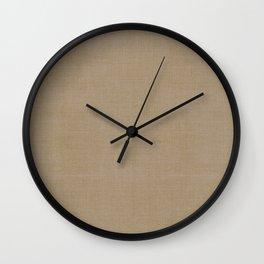 DASH DASH LINEN . MID-CENTURY OLIVE Wall Clock