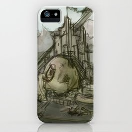Giant's Crown iPhone Case