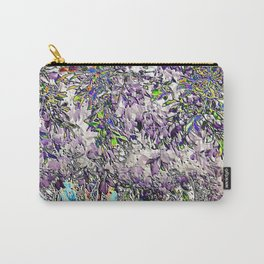 Emanating high vibrational violet energy Carry-All Pouch