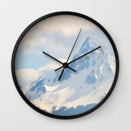 Mount Washington, Oregon Wall Clock