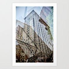 Trippy Kentucky Towers. Art Print