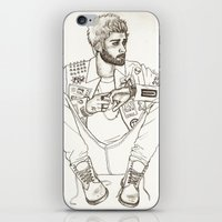 zayn iPhone & iPod Skins featuring Zayn by harrydoodles
