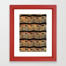 Pelican Pattern 2 (b) Framed Art Print