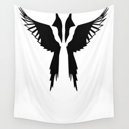 Pica and Pica Wall Tapestry