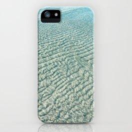 ripple effect iPhone Case