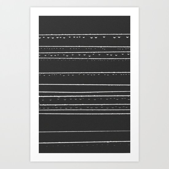 168 Drops & Droplets  Art Print
