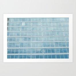 Window Panes Art Print