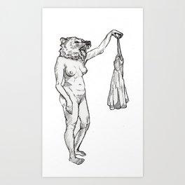 Neener Pants Art Print