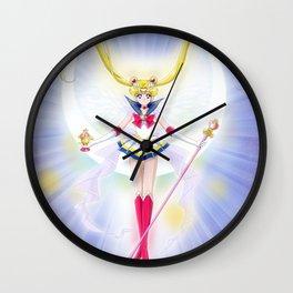 Super Sailor Saint Moon Wall Clock
