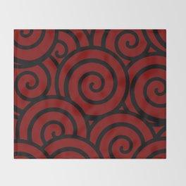 NARUTO: Clan insignia of Namikaze Throw Blanket